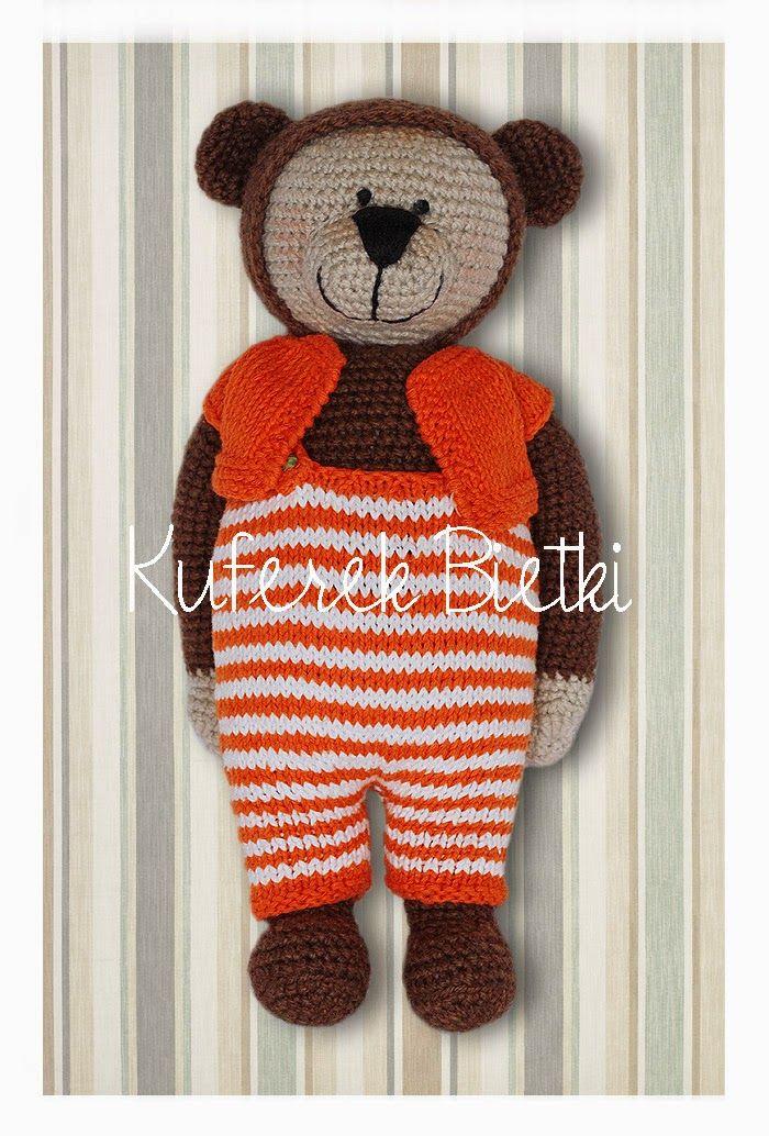 Trunk Bietki: Teddy crochet / Gehäkelte Bär | Teddys | Pinterest ...