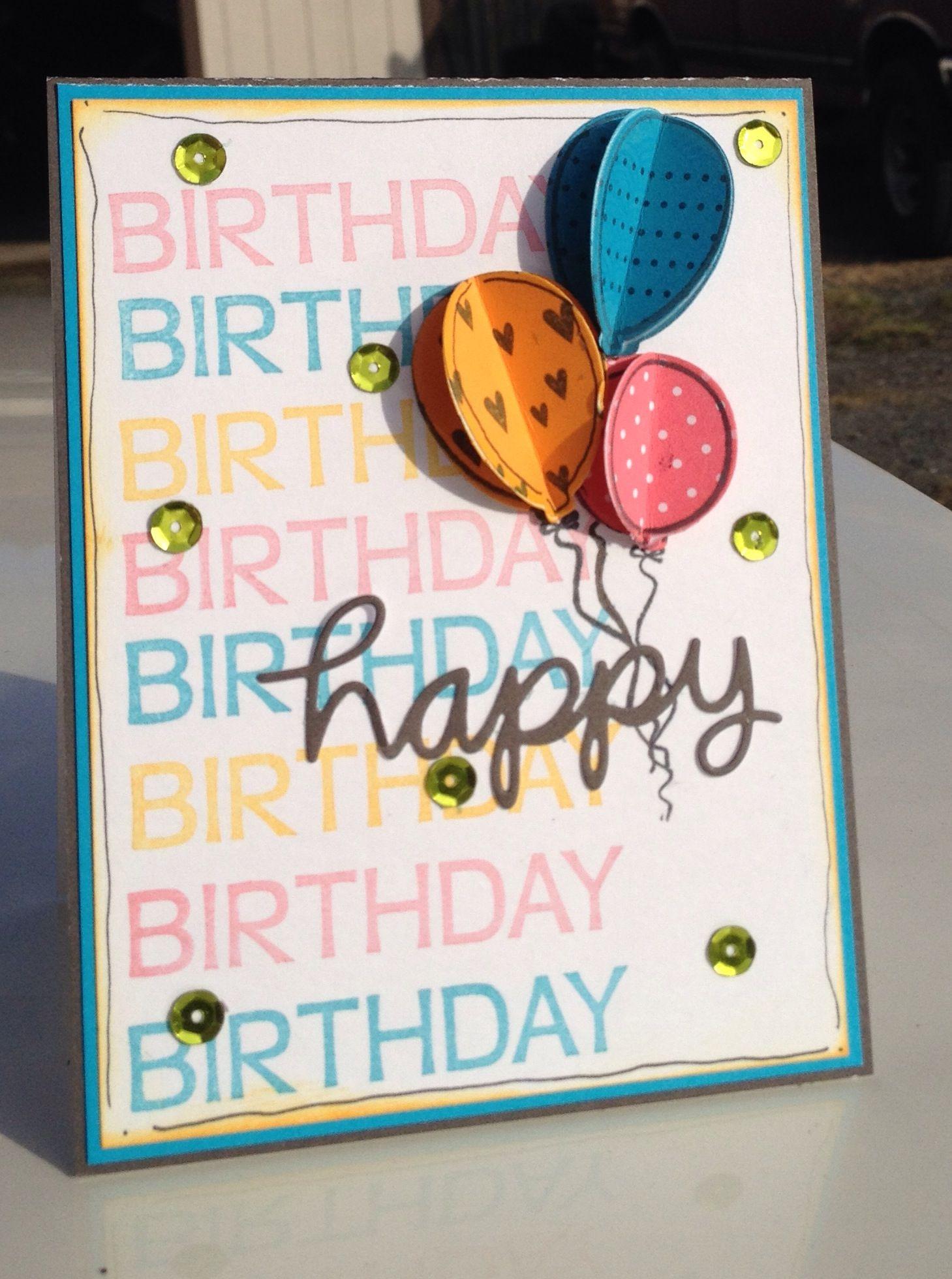 A Muse Studio Birthday bash card.