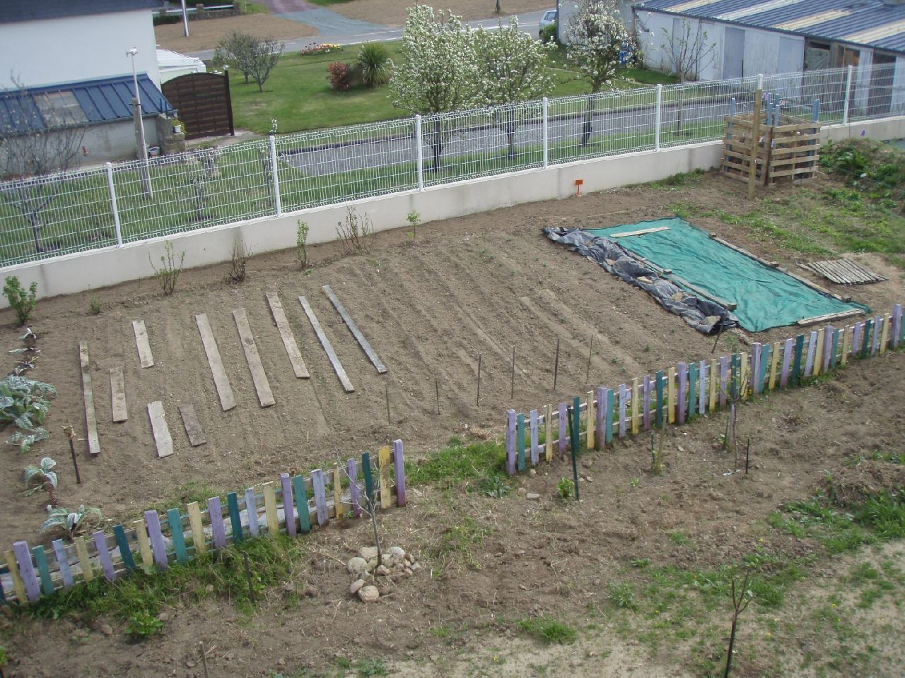 Barriere Palette Jardin ~ Meilleures idées pour la conception et l ...