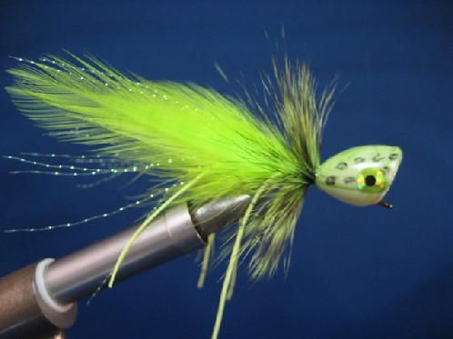 Jeremy hunt of will show you how to for Fly fishing poppers