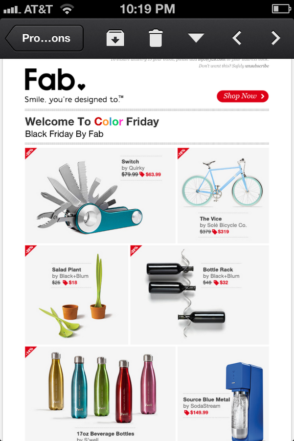 Black Friday Email Mobile View Email Email Design Pinterest