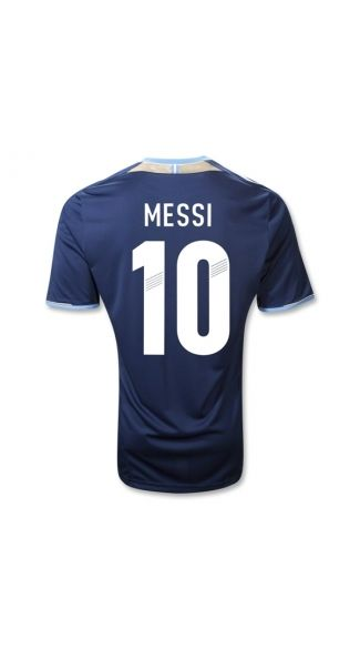 Wholesale new and best 2012 2013 Argentina MESSI 10 Away 2012 soccer jerseys   6e3596378