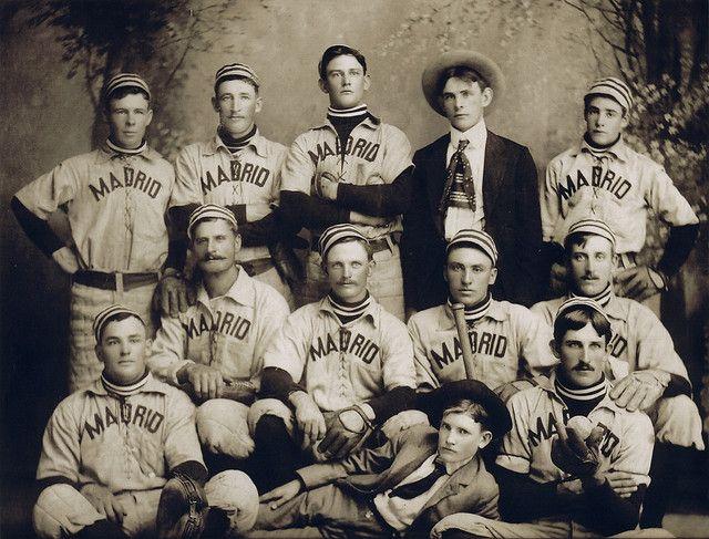 Coal Miner Ball 1899 Madrid Miners Baseball Team New Mexico History Baseball History Baseball