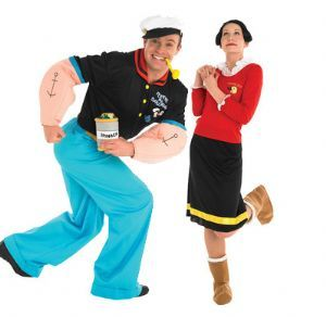 cartoon popeye sailor man olive oyl costumes fiesta infantil setentera pinterest candy. Black Bedroom Furniture Sets. Home Design Ideas