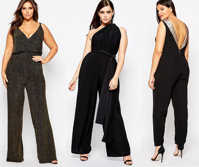 7d070583acc Shapely Chic Sheri - Curvy Fashion and Style Blog  15 Plus-Size Jumpsuits  for New Year s Eve