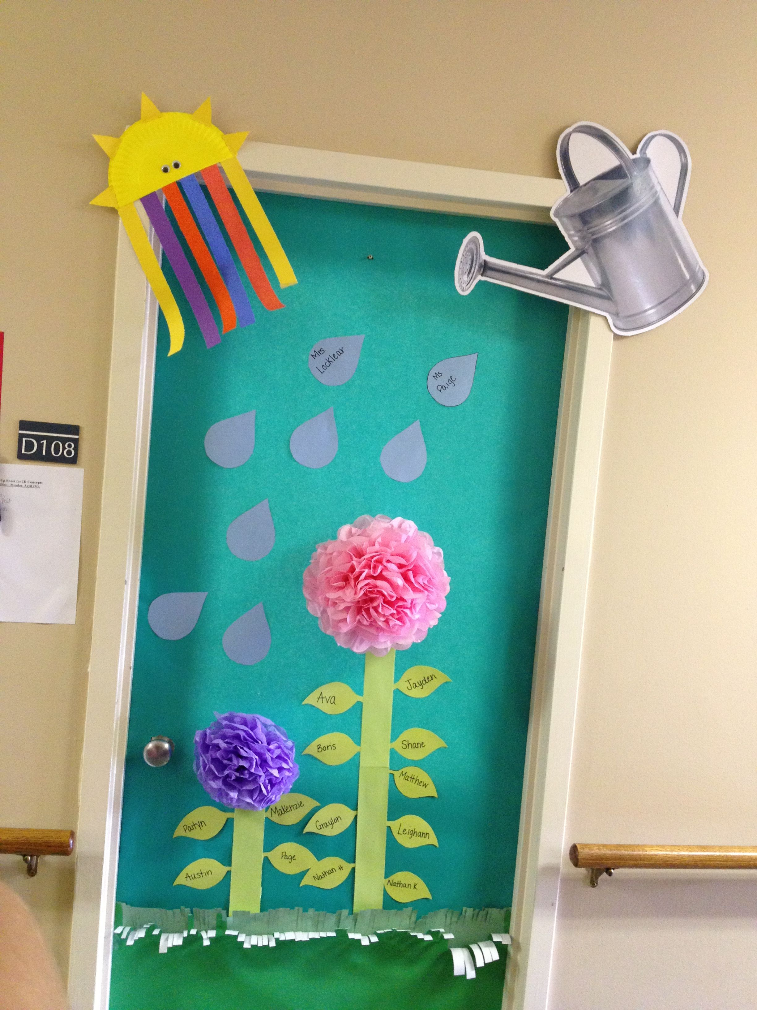 Classroom Decoration Ideas For Spring : Spring classroom decoration teaching pinterest