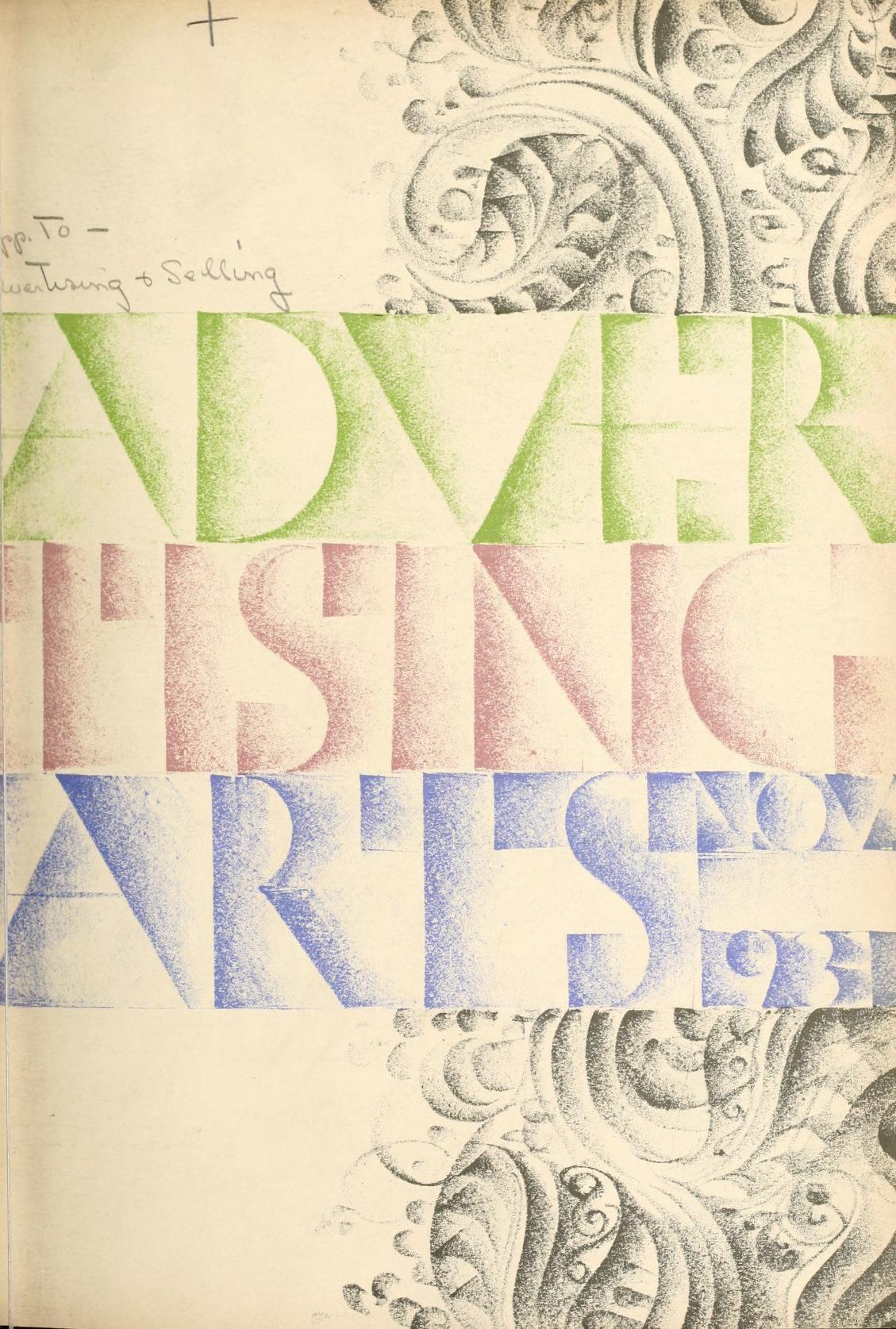 Gustav Jensen - Advertising Arts, November 1931