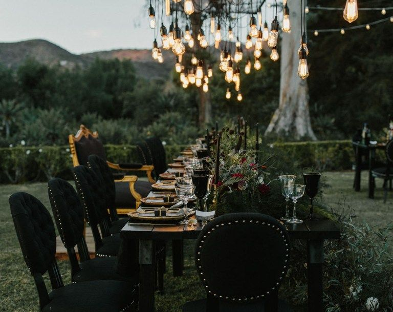 Ethereal Secret Garden Wedding with Vintage Curiosities - Green Wedding Shoes