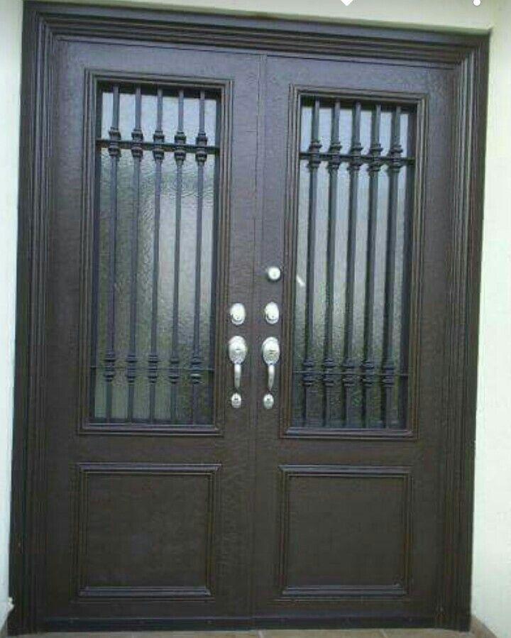 Pin De J Angel Rosas En Puertas De Herreria Puertas De Metal Puertas Delanteras Puertas De Fierro