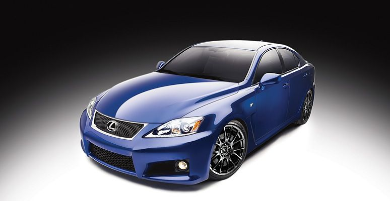 The IS F from Lexus, in Ultrasonic Blue Mica. | Cool Products ...