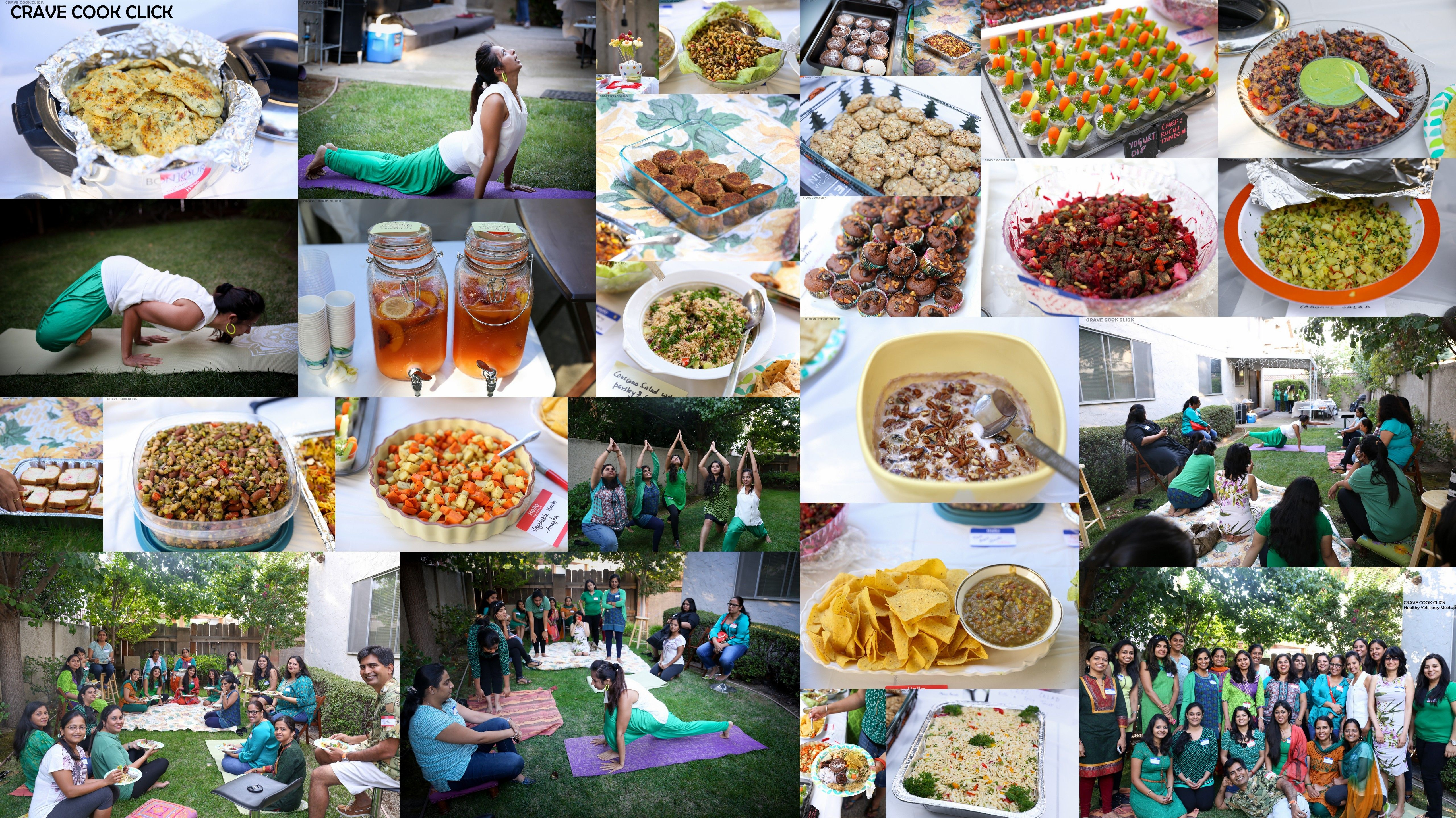 Crave cook click healthy yet tasty meetup recipe book