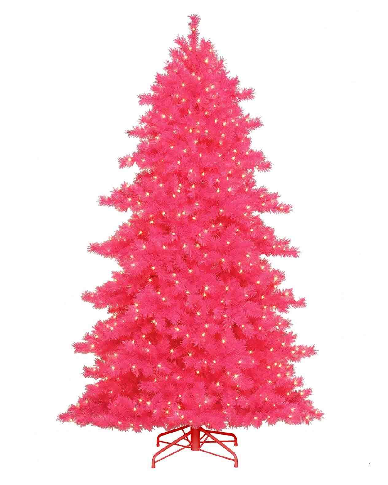 Christmas Tree New Post Hot Pink
