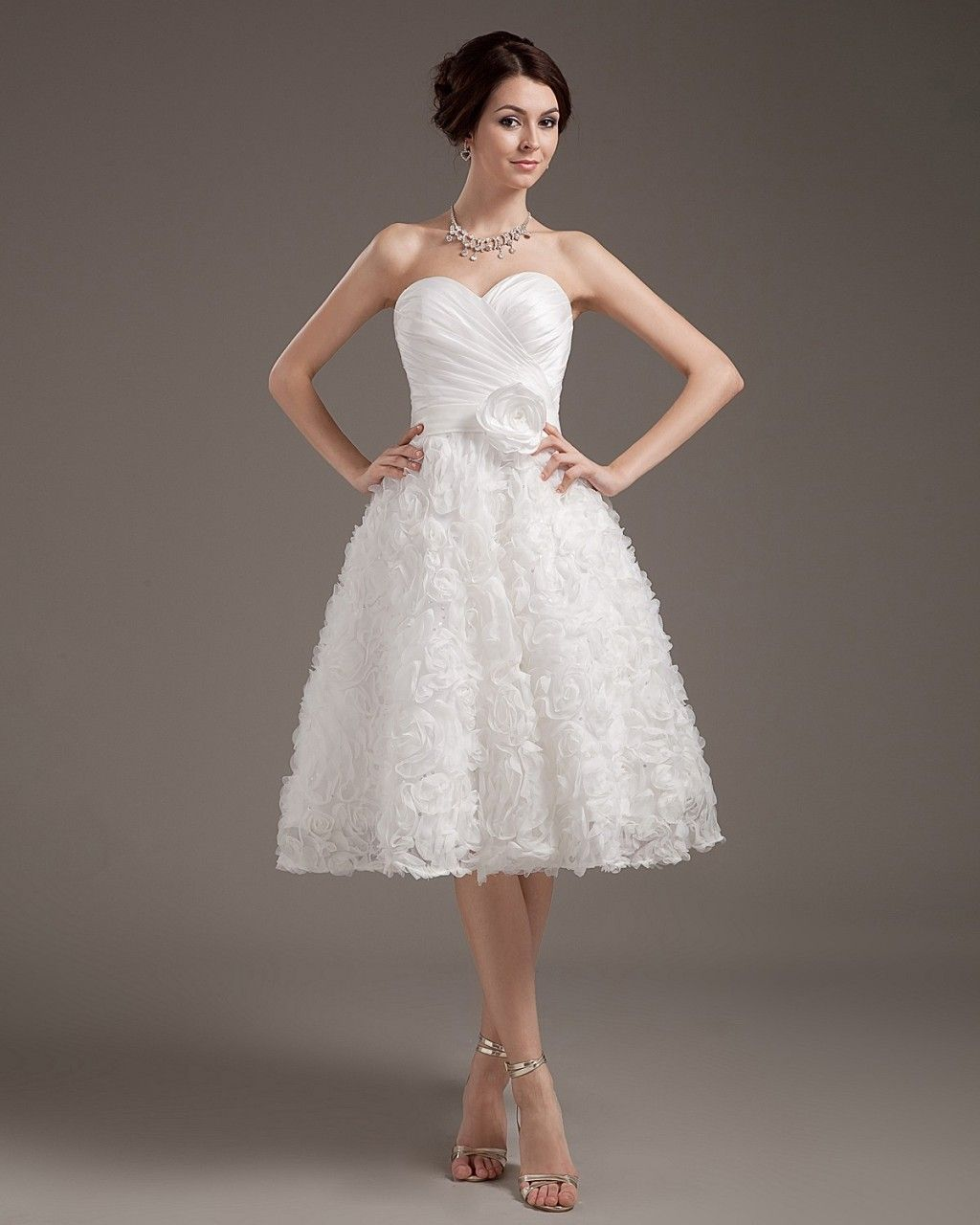 Mini white wedding dress  Cheap Short Wedding Dresses   Wedding Dresses Elegant Short Mini
