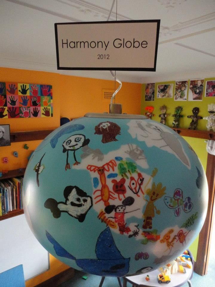 Our Harmony Globe - The world represented through the eyes ...