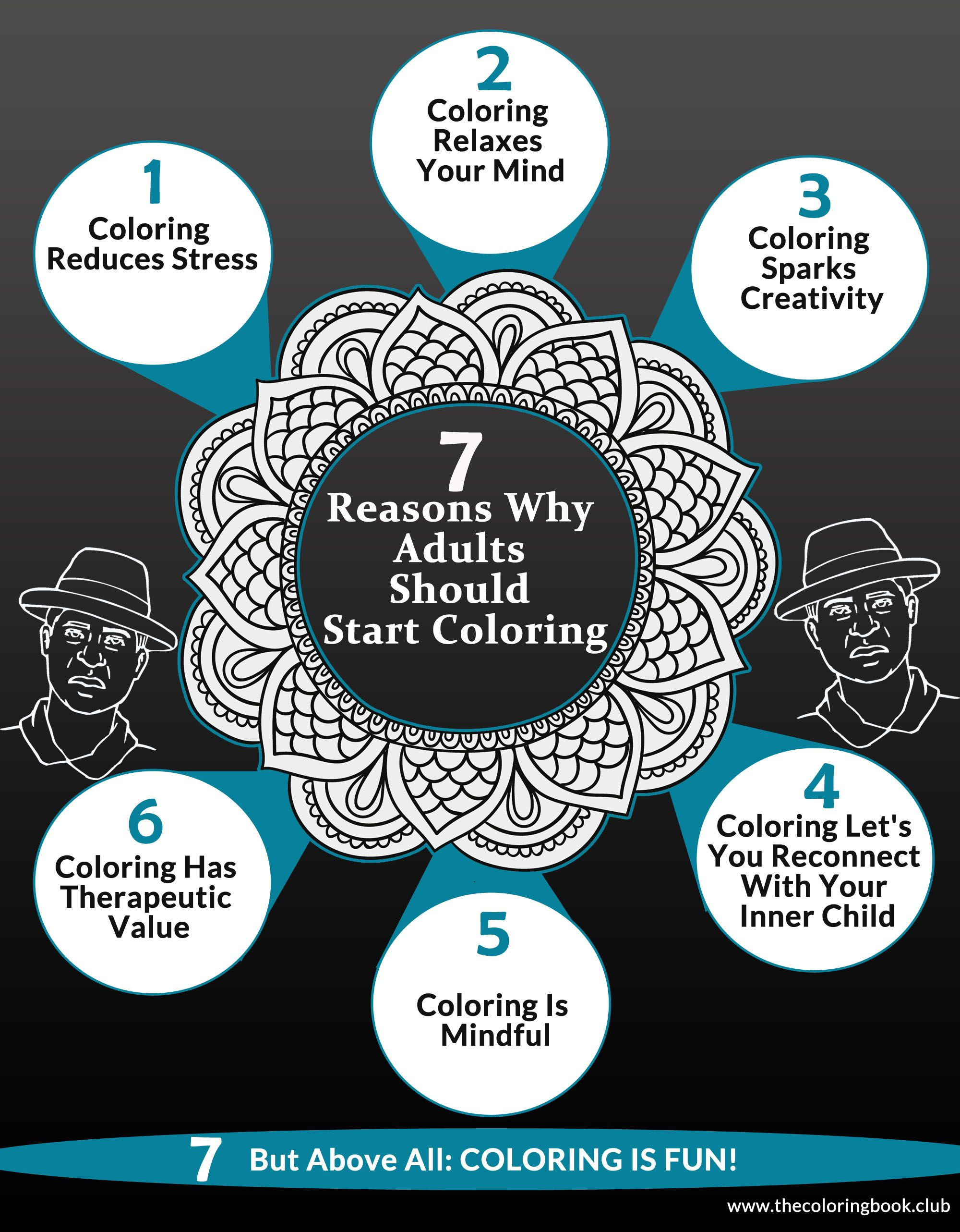 Coloring books to destress - Adults Love Coloring Books And For Good Reasons Coloring Has Many Benefits For