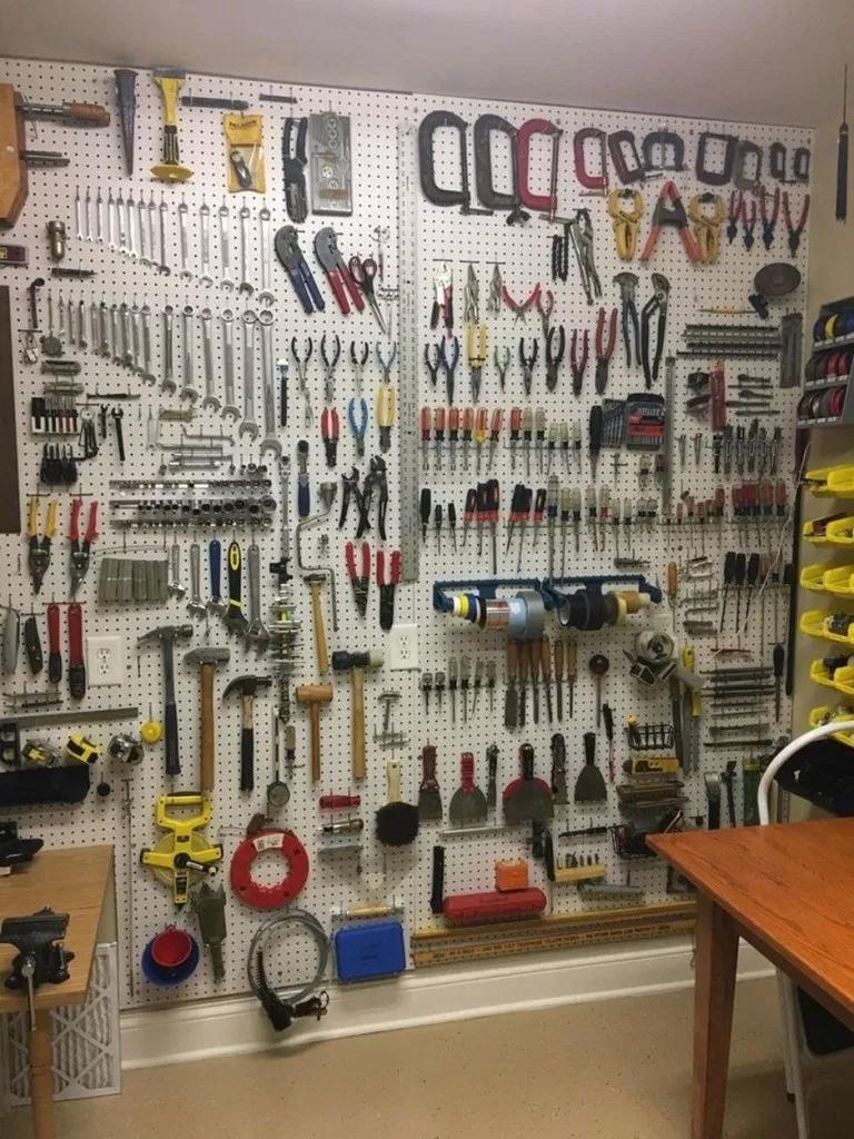 Photo of ✔top 70 best garage workshop ideas 41 ~ aacmm.com