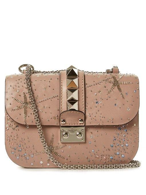 0052712cdab1 Valentino Lock small star-embellished shoulder bag | Bags ...