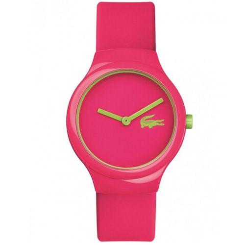 Relógio Lacoste Feminino Borracha Rosa - 2020098   Comprar ... 8660af3759