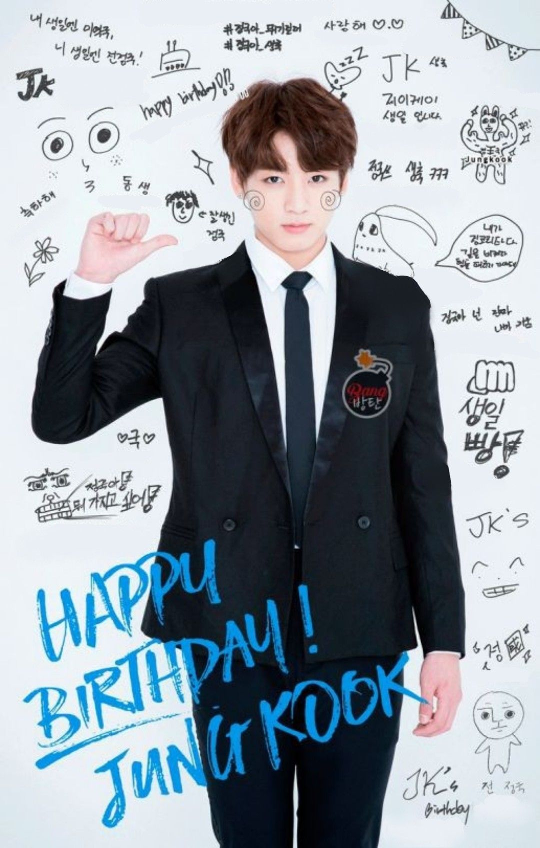 Happy birthday Jungkook!