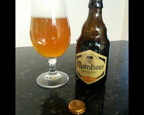 Cerveja belga de primeira.