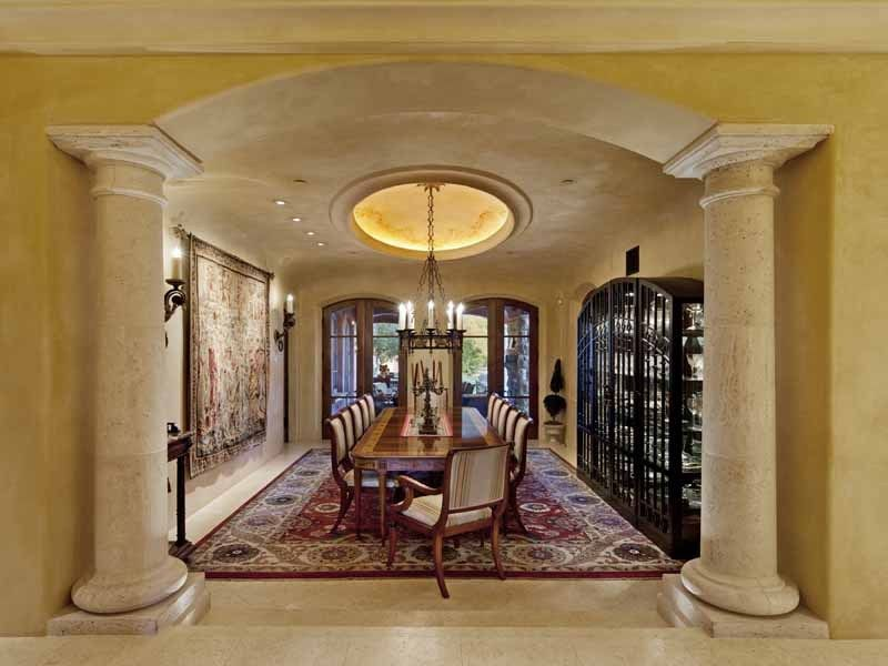 Dining Room Pillars Homes Pinterest Room, Decorating and House