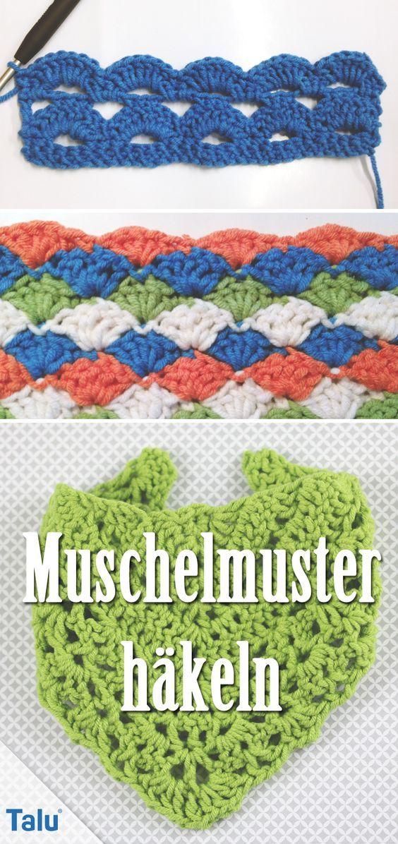 Muschelmuster Häkeln Grundlagen Und Diy Anleitung Crochet