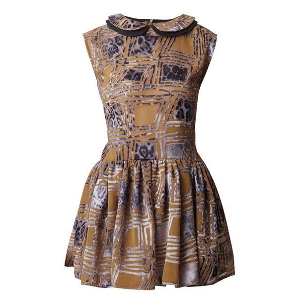 Sleeveless Mini Dress Velvet//