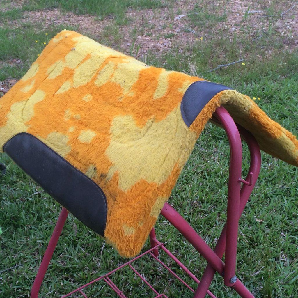 letgo orange and yellow mat in Puckett, MS Throw