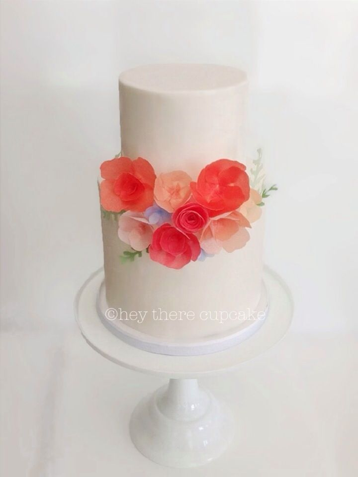 Wafer paper rice paper flowers steviauble htc wafer wafer paper rice paper flowers steviauble geometric cake modern mightylinksfo