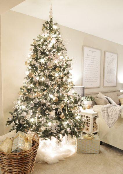 2017 2018 decoraciones de rbol navide o navidad - Decoracion de arboles navidenos ...