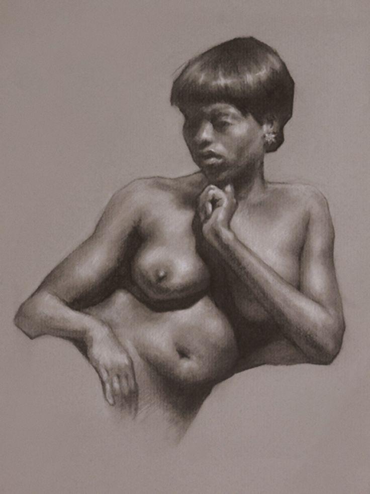 american nude drawings African