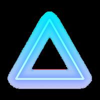 Google Image Result For Https Www Freepngimg Com Thumb Triangle 75823 Triangle Light Sticker Neon Sign Human Detroit Treugolniki Banner Geometricheskie Uzory
