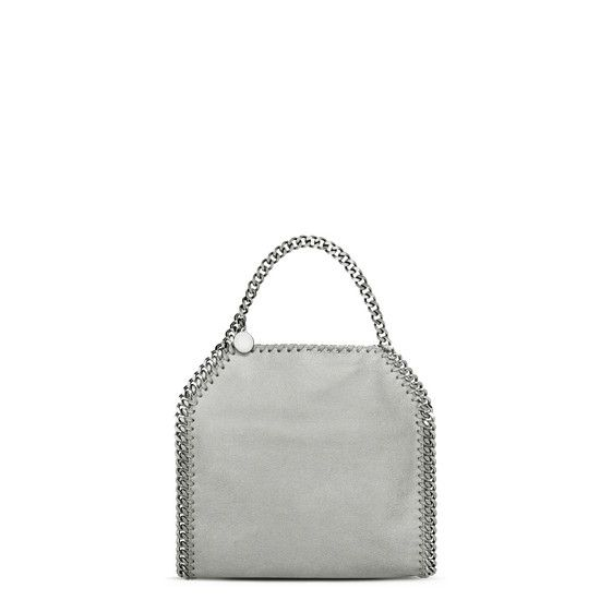 8242ea6bcd Light Gray Falabella Shaggy Deer Mini Tote - Stella Mccartney Official  Online Store - FW 2017 - 2018
