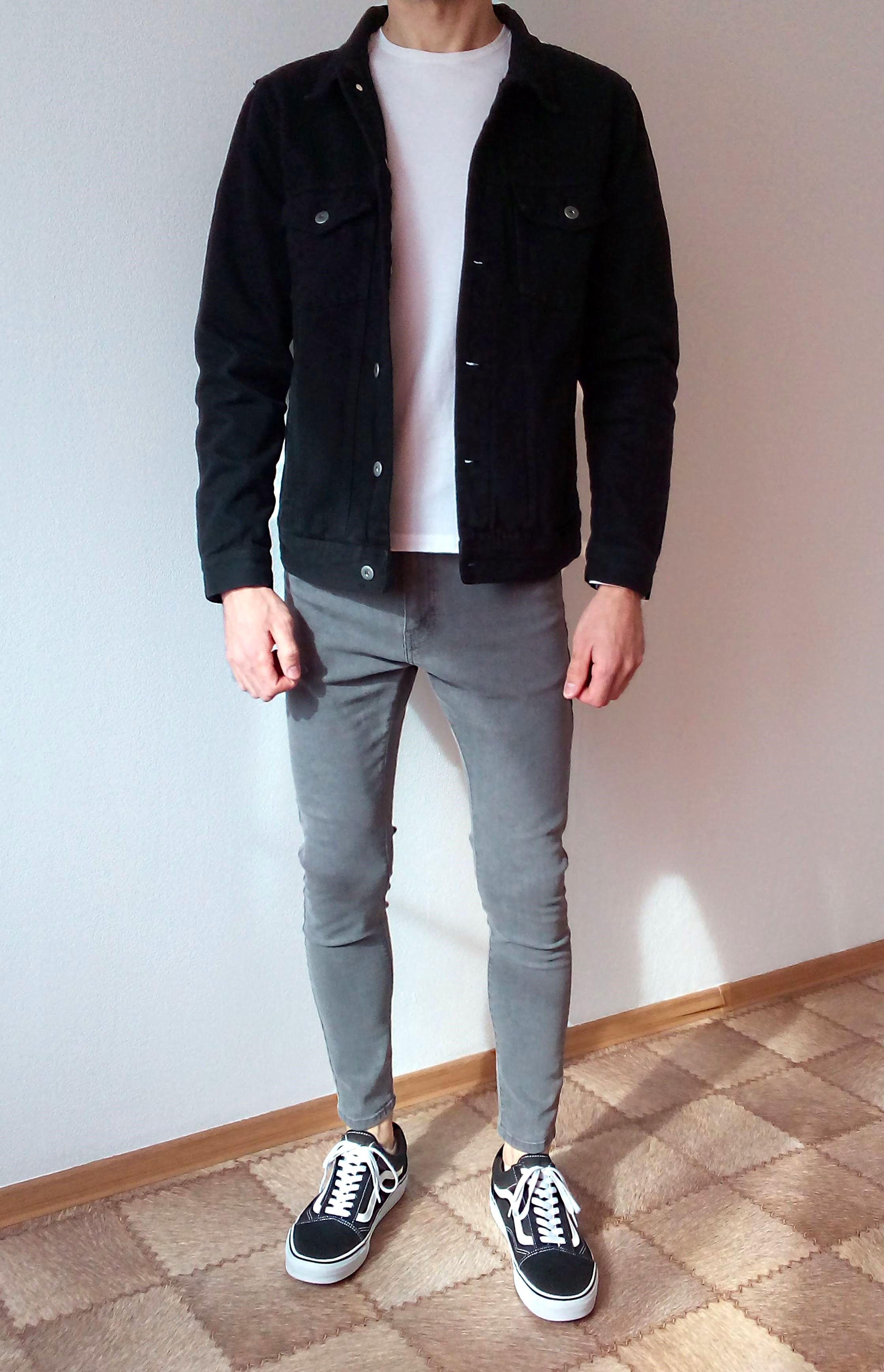 vans old skool skinny jeans boys guys