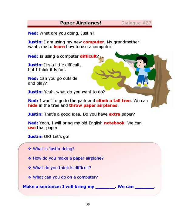 english dialogue Want to get helpful english conversation practice with these 9 strategies you'll reach english fluency faster than ever.