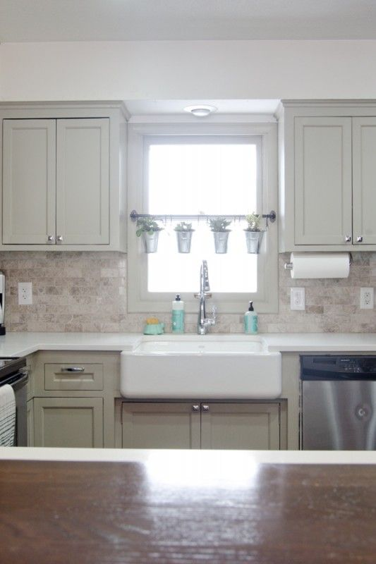 Remodeled Kitchen With Apron Sink, Ramblings From The