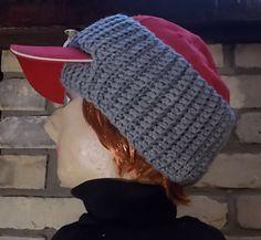 Image result for mens ball cap ear warmer crochet free pattern ... e29aaffa89e
