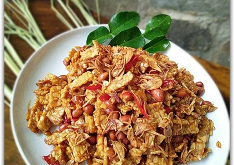 Resep Kering Tempe Kacang Awet Renyahnya Tips Oleh Dapurvy Resep Ide Makanan Resep Makanan Dan Minuman