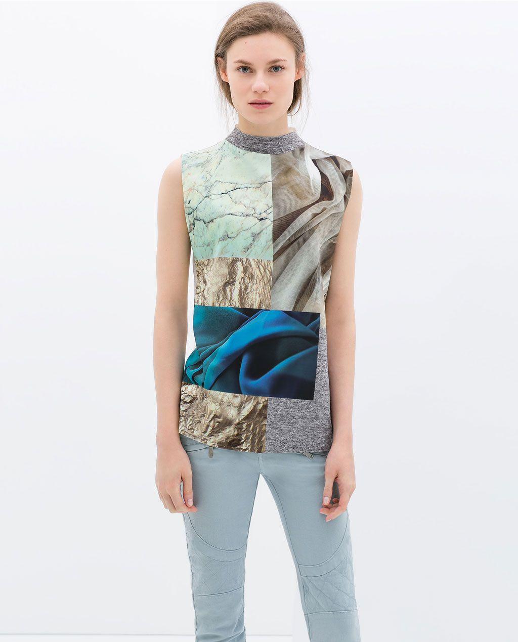 Printed T Shirt From Zara Under 50 Under 100 Favorite