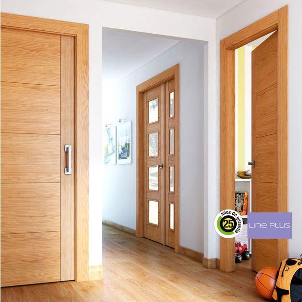 Resultado de imagen para puerta grises herrer a 1115 - Puertas de madera leroy merlin ...