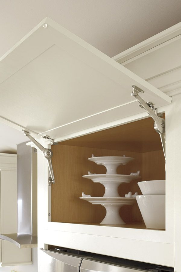 Wall Cabinet With Top Hinge Door Diamond Cabinetry Building Kitchen Cabinets Speciality Cabinets Kitchen Wall Cabinets