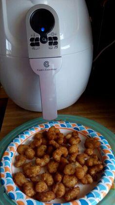 Popcorn Shrimp in my air fryer (air frier recipes healthy