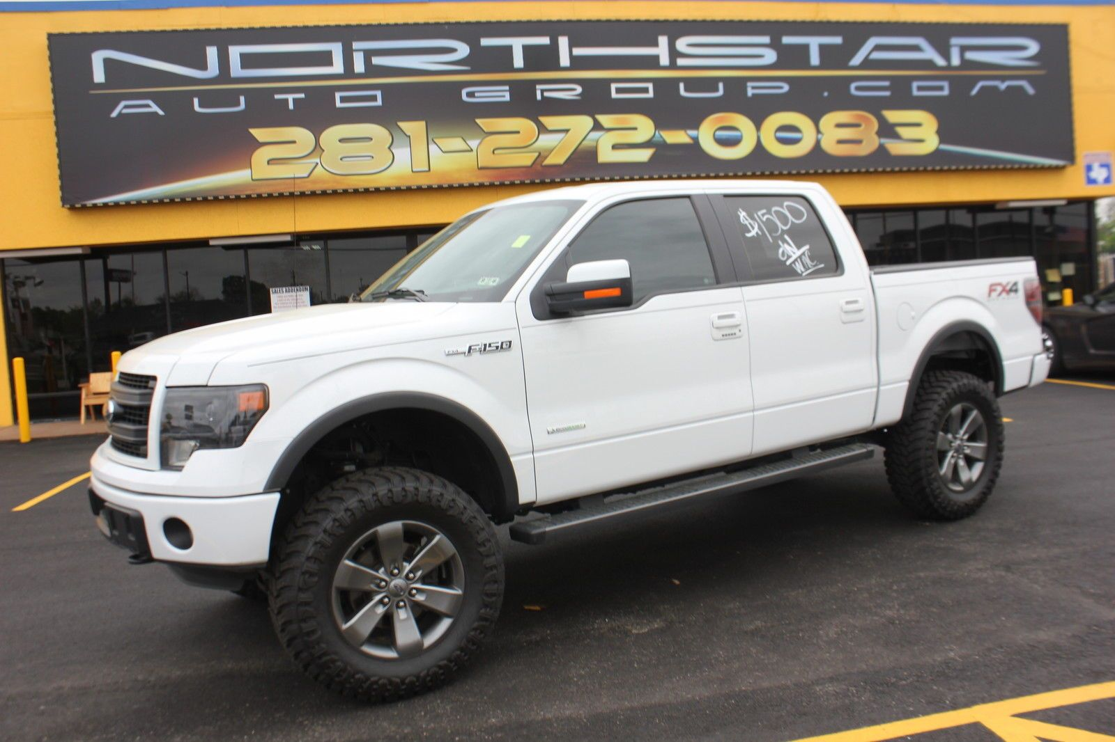 2013 ford f 150 fx4 leveled and lifted trucks edwards ford - 2014 Ford F 150 Lift Truck Extended Cab Pickup