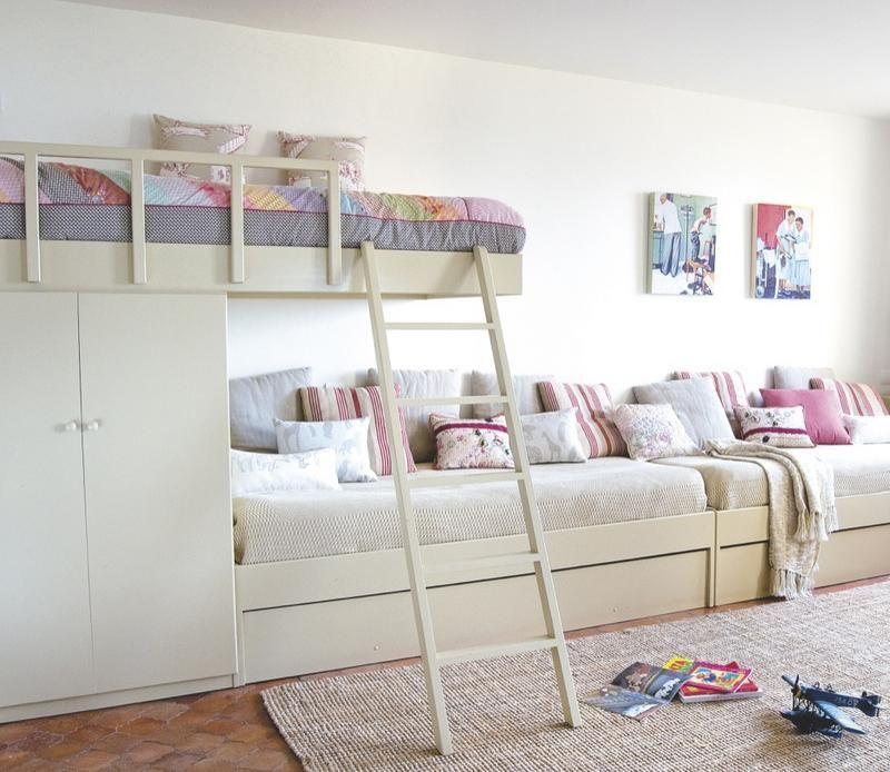 Claves para organizar una habitación compartida   Dormitorios ...