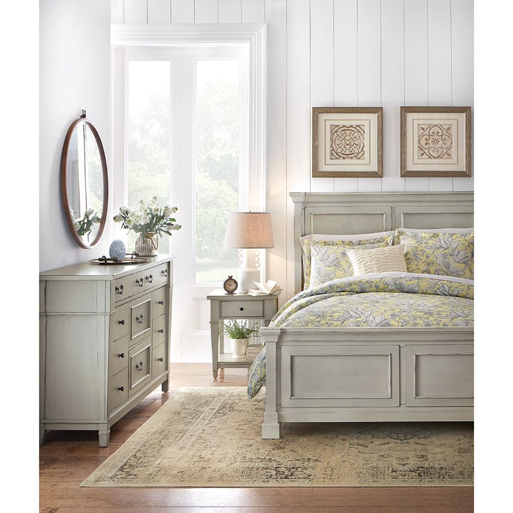Home Decorators Collection Bridgeport Antique Grey Queen Bed 1872500270 The Home Depot Buy Bedroom Furniture White King Bed Frame Grey Bedroom Furniture