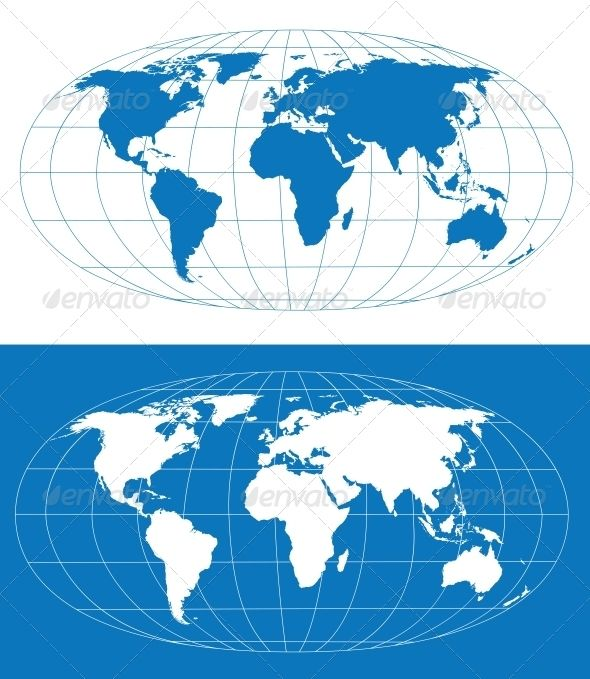 Vector world map africa australia and squares vector world map gumiabroncs Image collections