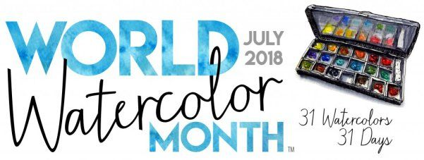 World Watercolor Month In July Founded By Doodlewash Calendar