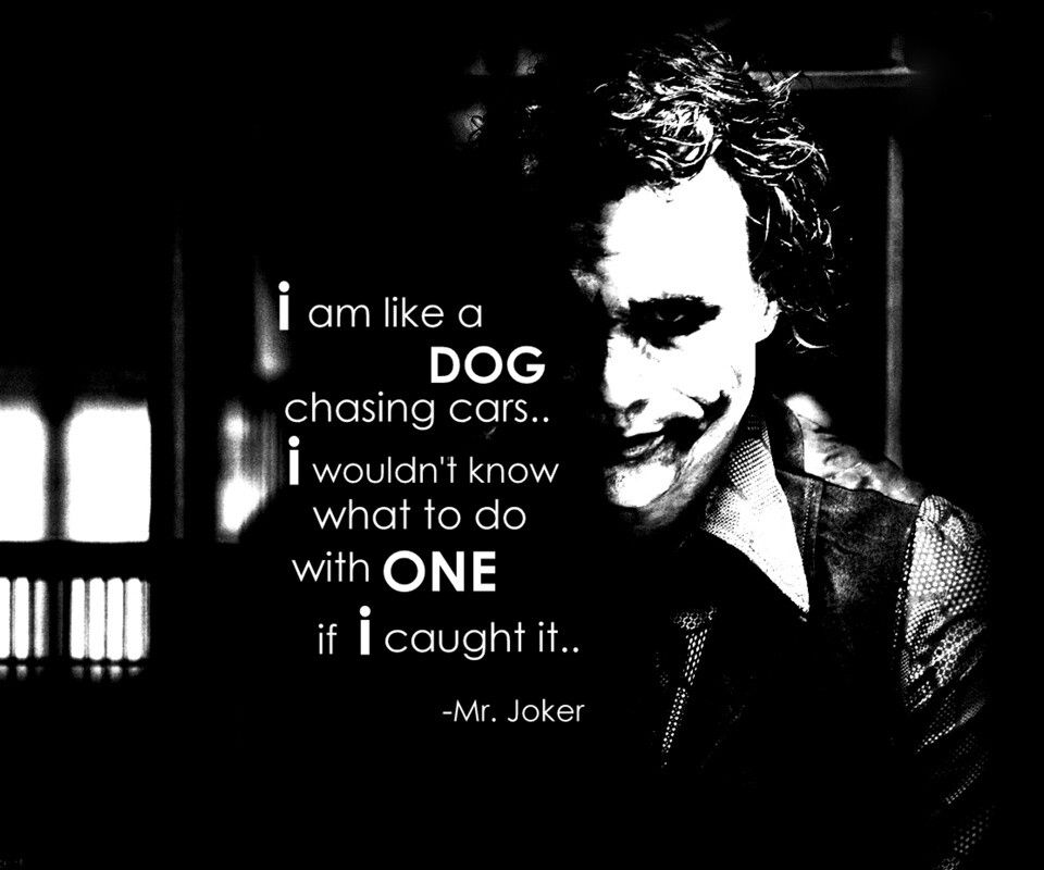 Joker Love Quotes : ... joker joker and harley superman words quotes tv quotes movie quotes