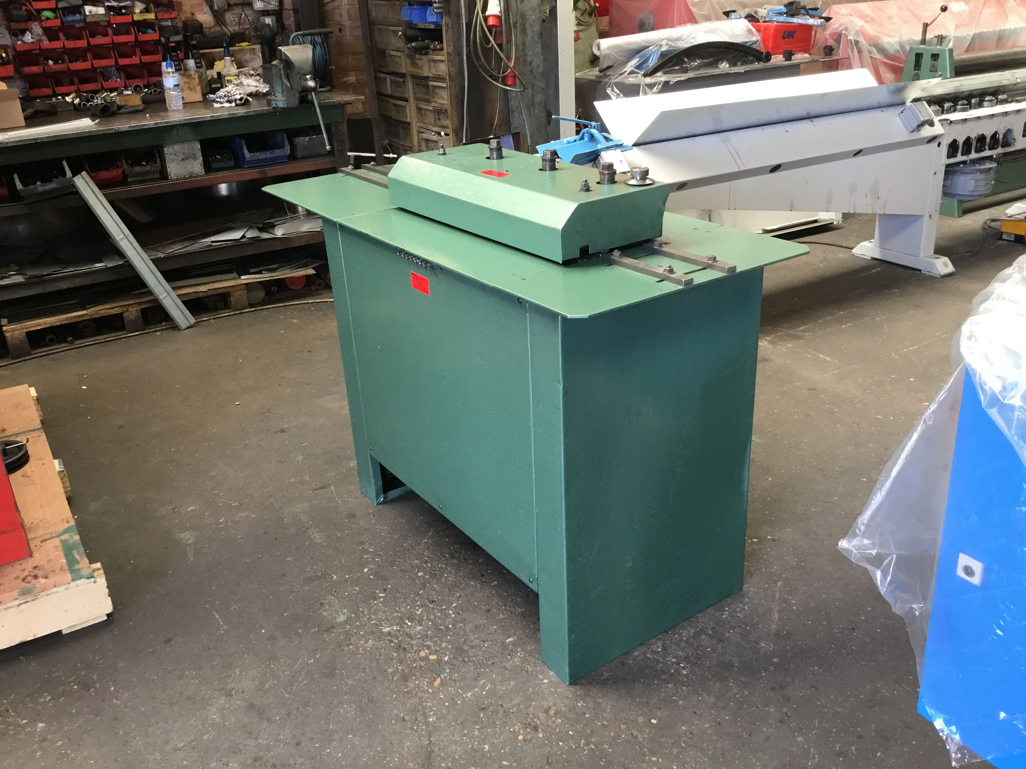 The Shorte 16swg 1 6mm Pittsburgh Lock Rollformer Is A 7 Station Machine Principally Used In The Hvac Industry F Industrial Hvac Sheet Metal Machine Service