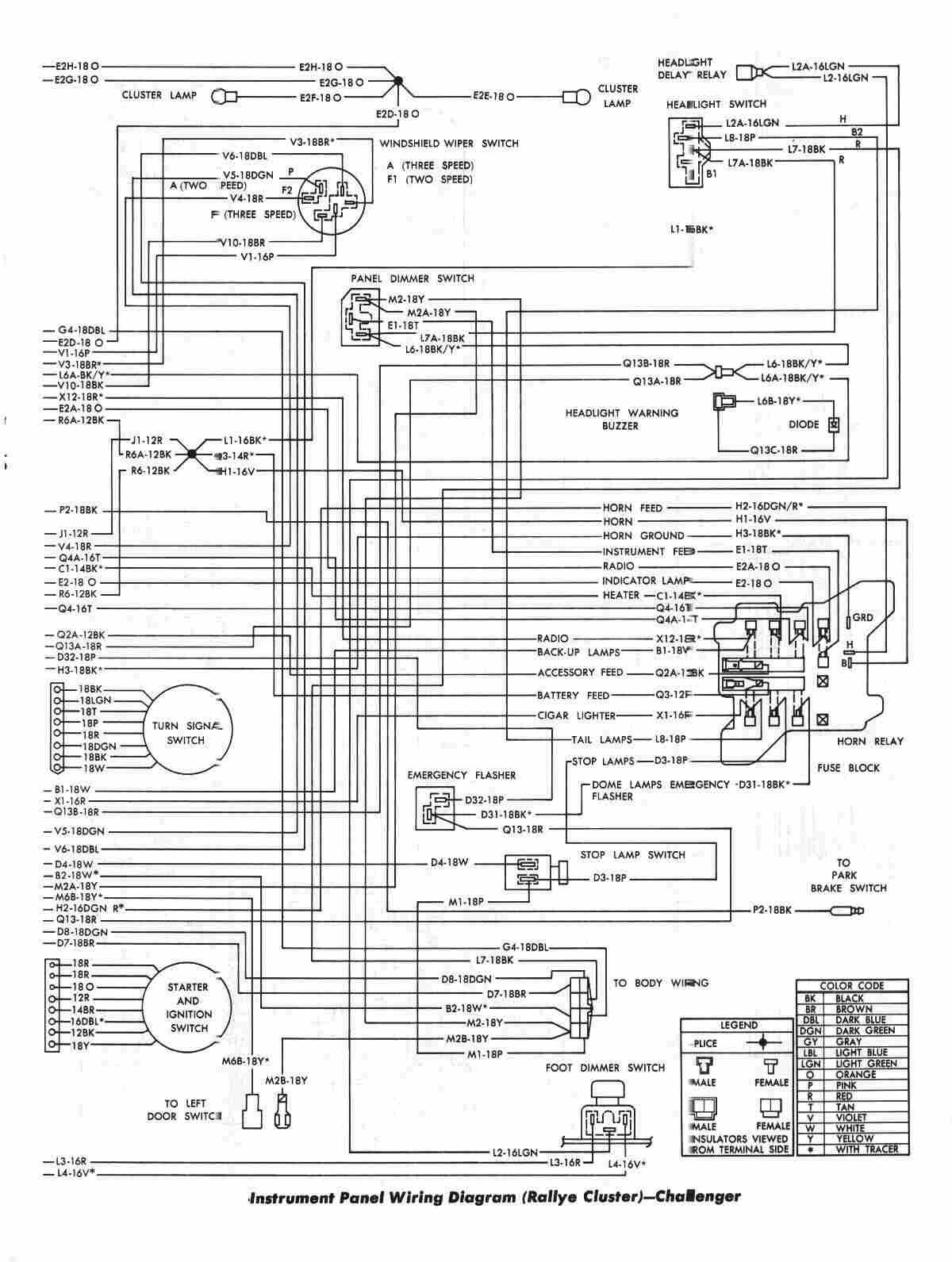 2011 dodge charger wiring diagram new 1973 dart [ 1200 x 1591 Pixel ]